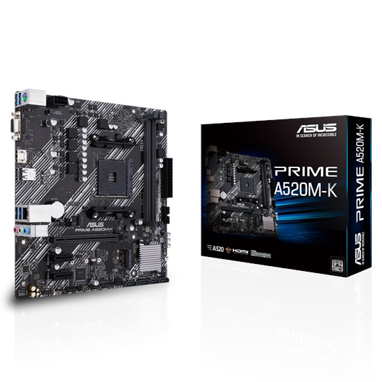 Motherboard ASUS A520M-K AMD DDR4 AM4