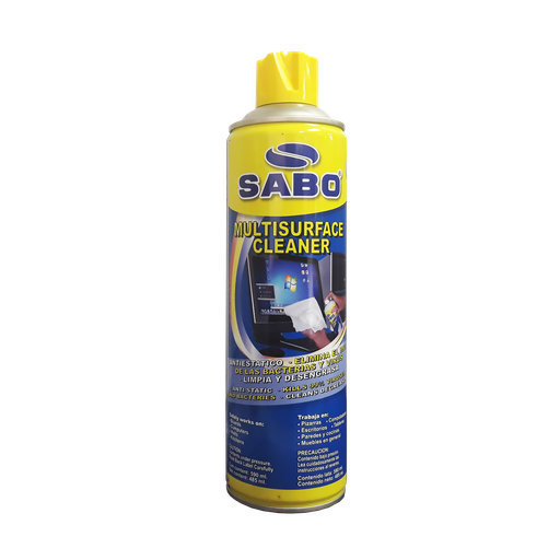 [1390] Espuma de limpieza superficies SABO 590ml