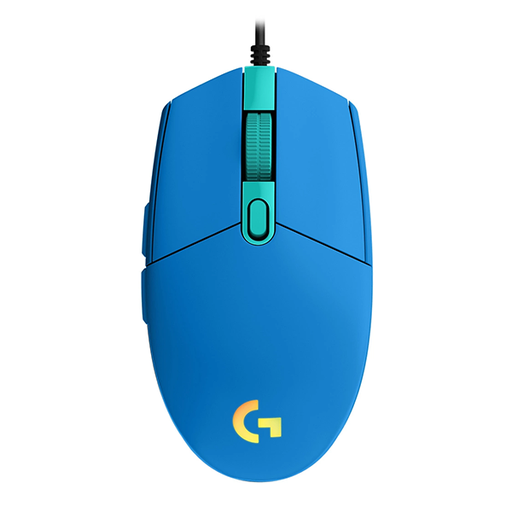 [08465] Mouse Logitech G203 Gaming Blue 8,000DPI, LinghtSync RGB