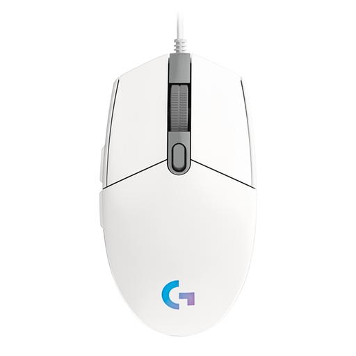 [08466] Mouse Logitech G203 Gaming White 8,000DPI, LinghtSync RGB