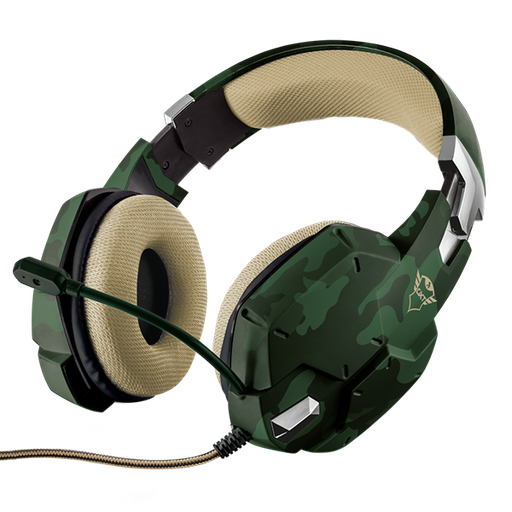 [08687] Trust Headset Gaming GXT 322C Carus Jungle CAMO