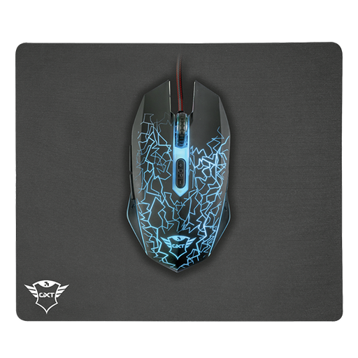 [08681] Trust Combo GXT 783 Izza Mouse & Pad
